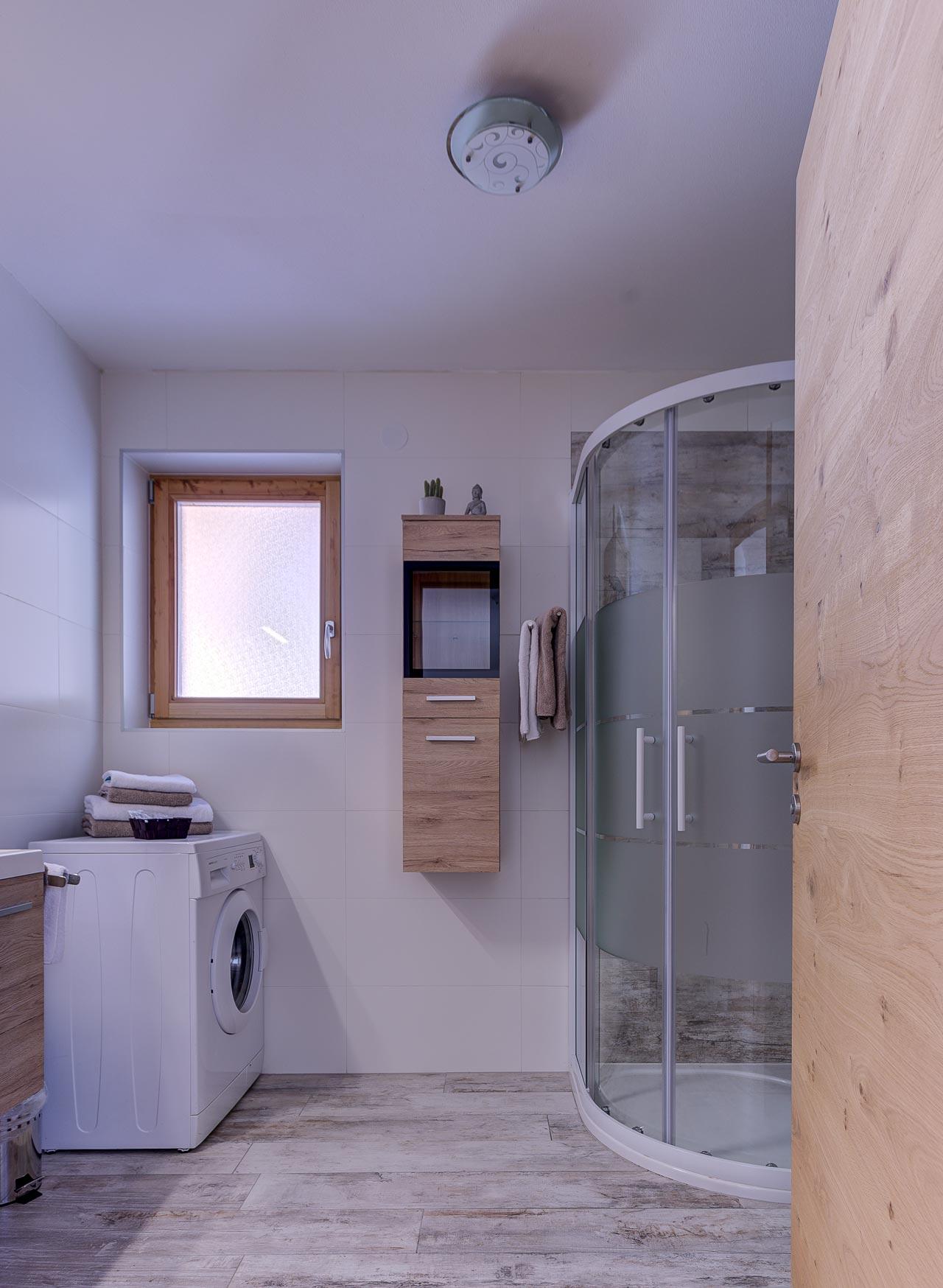 chalet waldblick 1 badezimmer dusche pfarrwirt appartements sand in taufers