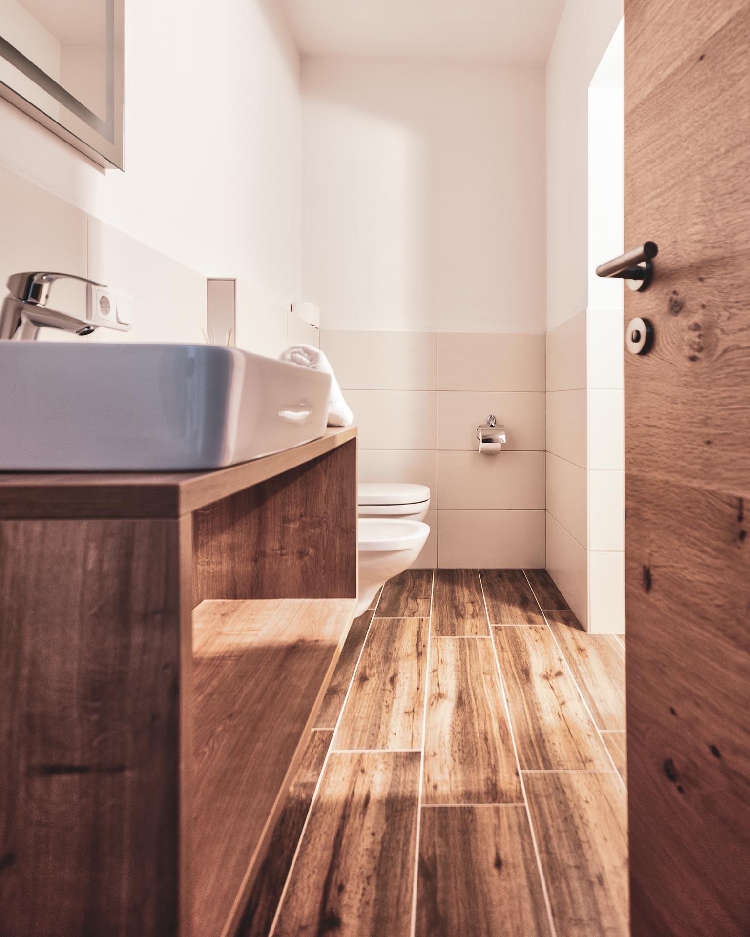 badezimmer appartement kematen pfarrtwirt sand in taufers