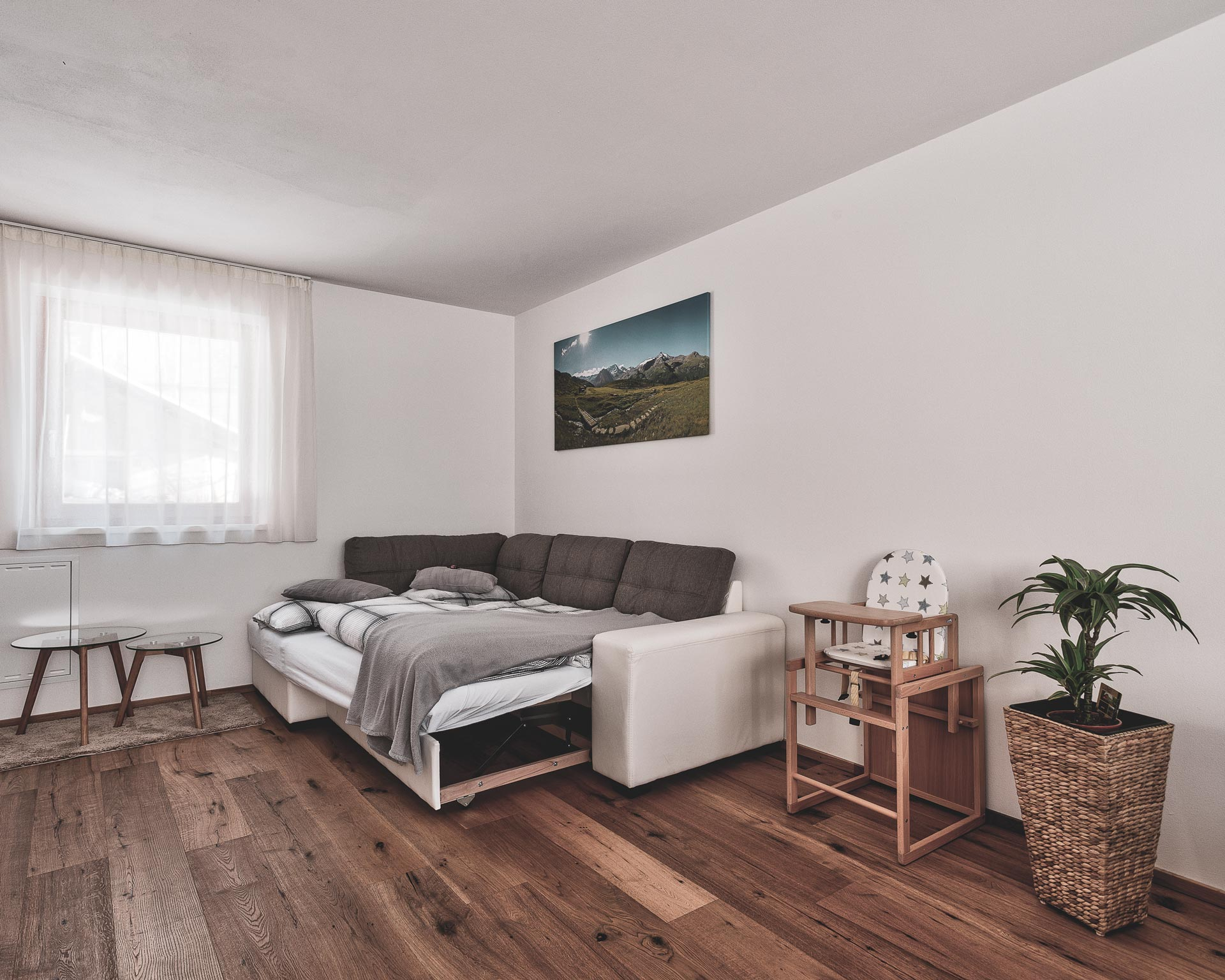 wohnkueche couch chalet waldblick 2 pfarrwirt appartements sand in taufers