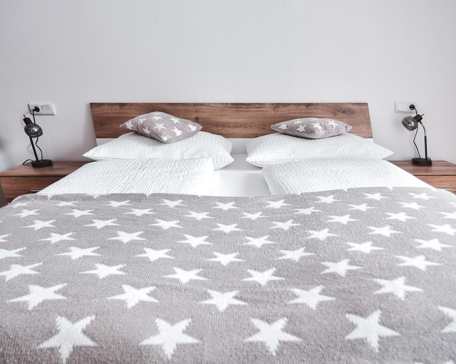 bett schlafzimmer appartement kematen pfarrwirt sand in taufers