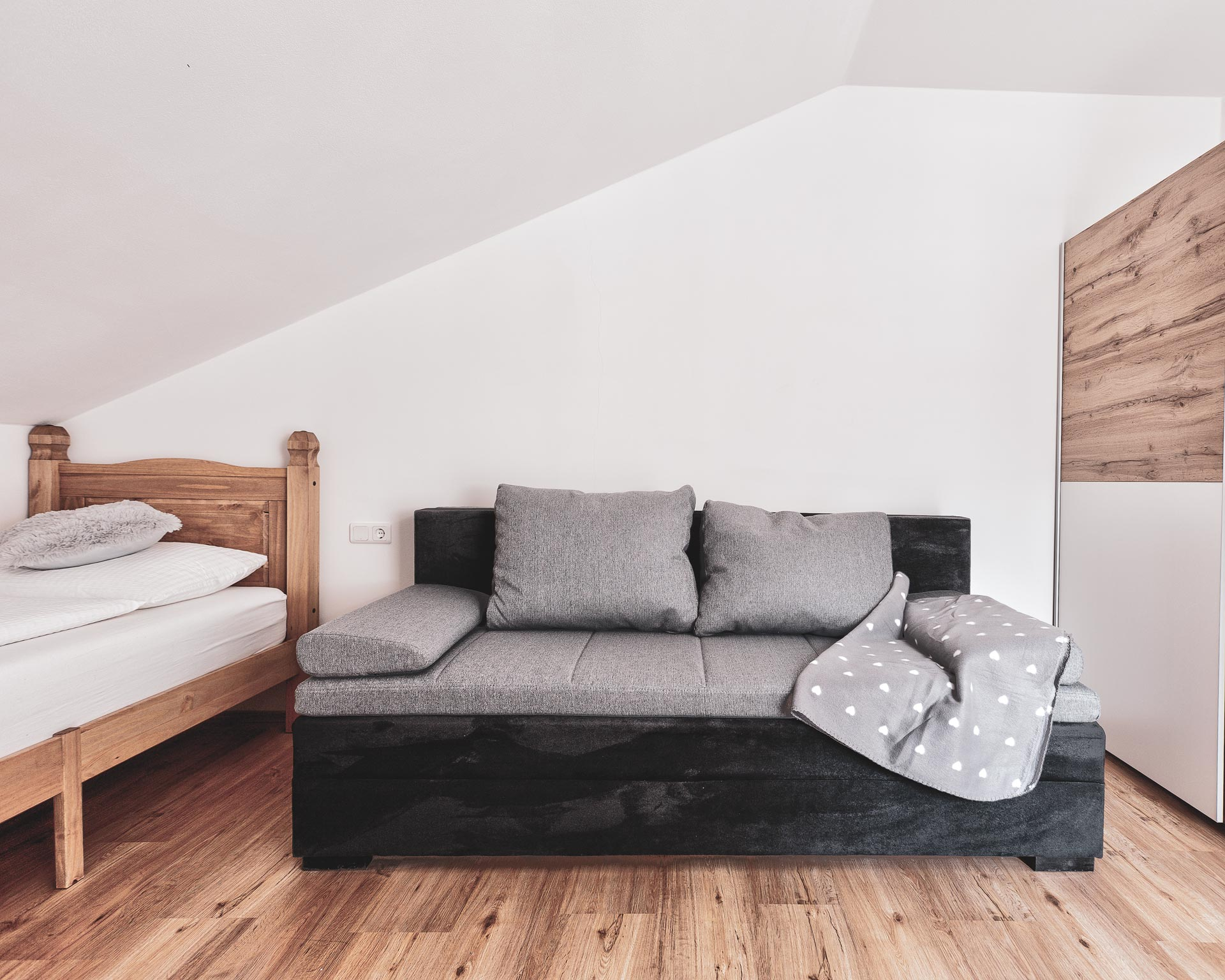 zimmer couch appartement ahrntal pfarrwirt sand in taufers
